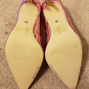 098a6f16fe3 Aldo Shoes - NWOT Also Stessy Metallic Pink Pumps